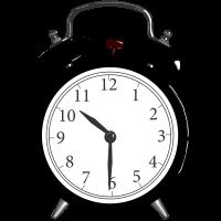 Morning HK Clock KK1